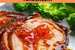 Apricot Glazed Bacon Wrapped Cajun Pork Tenderloin