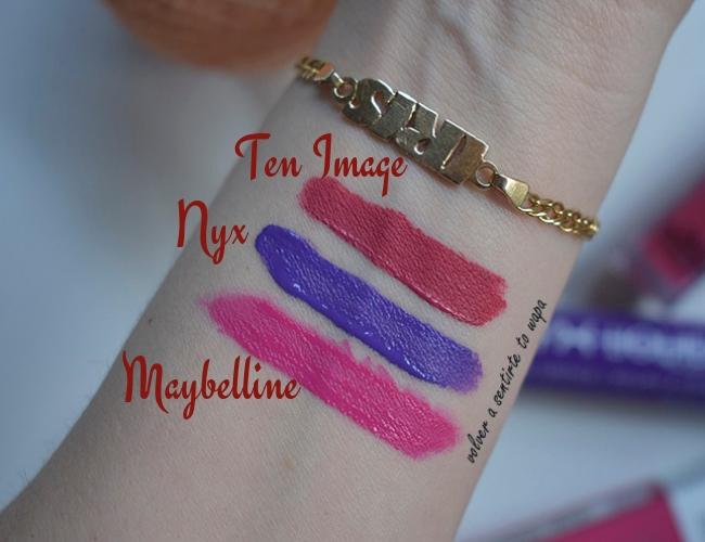 LIPSWEEK - Maybelline - NYX - Ten Image