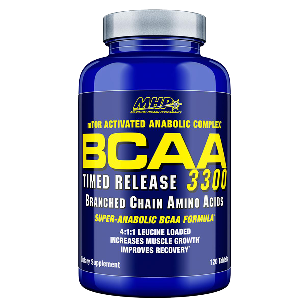 BCAA MPH 3300 Suplemen Penambah Massa Otot Suplemen Fitness Diet Pembentukan Otot Terbaik