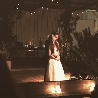 Troian Bellisario's wedding to Patrick J Adams
