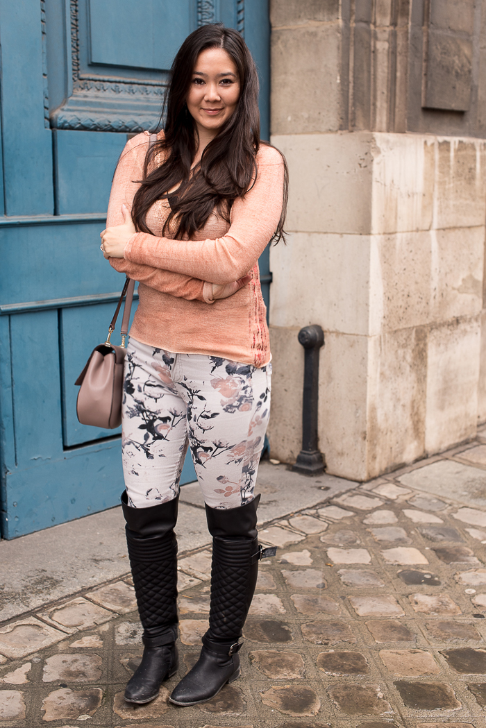 winter paris outfit