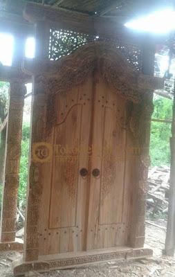 Pintu Gebyok Kusen Pintu
