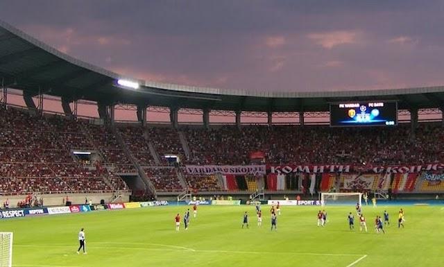 Vardar embarrasses itself against Real Sociedad