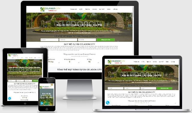 Template blogspot bất động sản dự án Celadon City - Ảnh 1