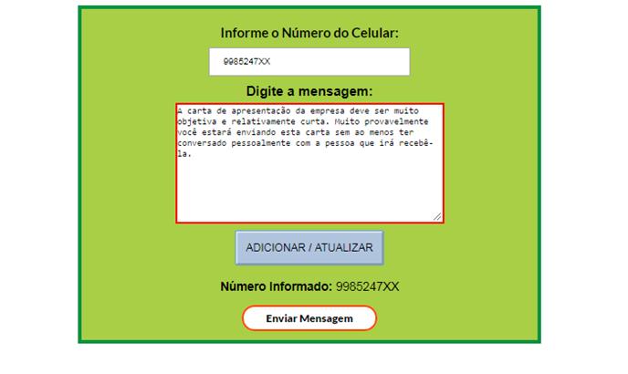 Extrator de números de WhatsApp Segmentados