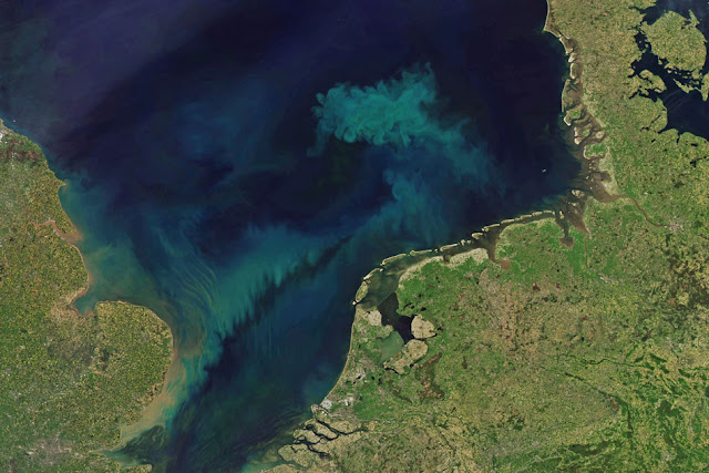 Much of the surface ocean will shift in colour by end of 21st century