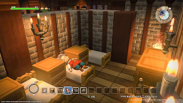 dragonquest builders INN