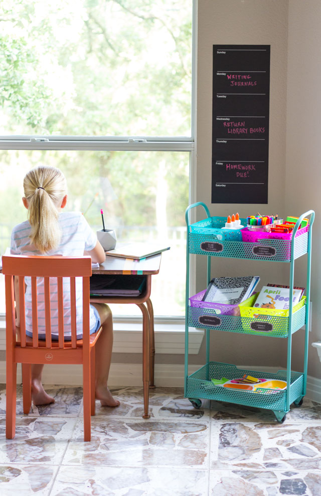 home homework station