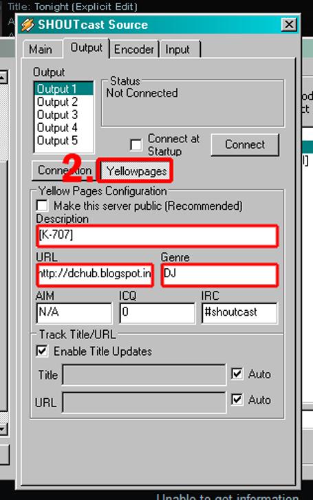 nullsoft shoutcast source dsp v1.9.1 gratuit