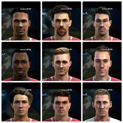 PES 2013 Facepack №1 by bradpit62