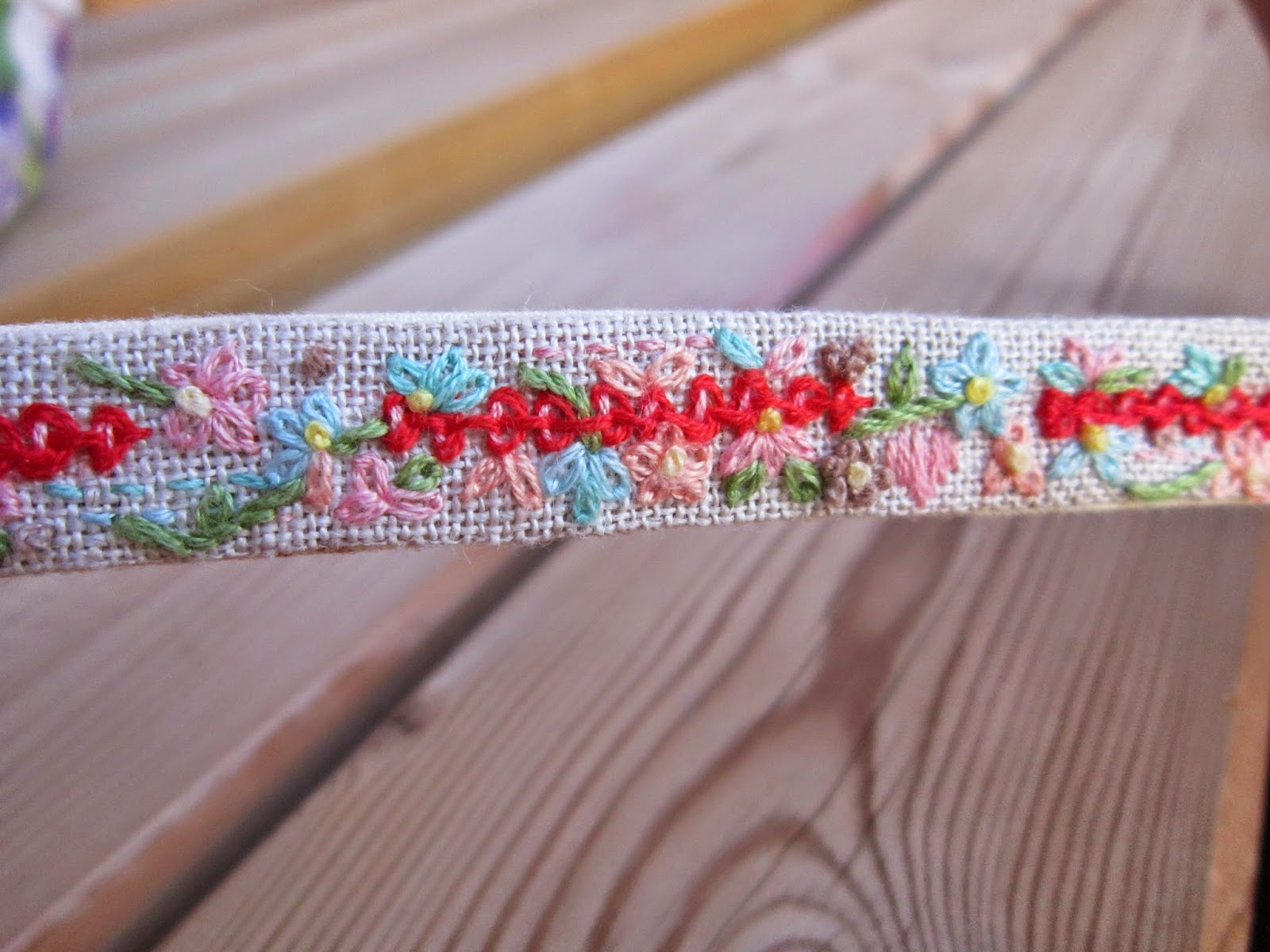 pulsera, bordado, embroidery, broderie