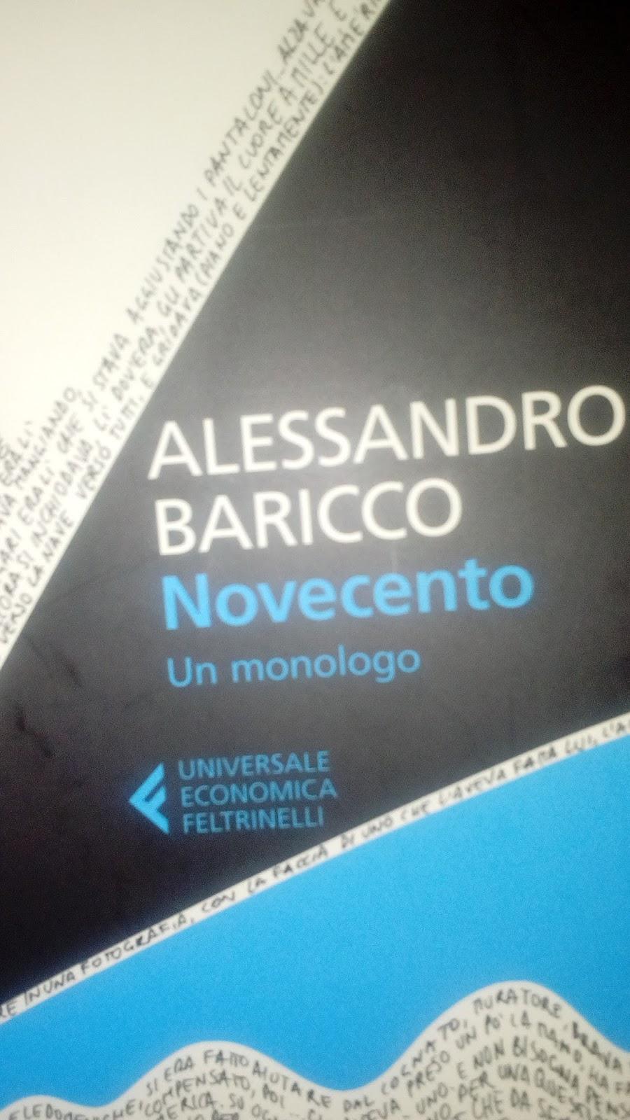 Novecento Un Monologo Wiring Library 17 Hp Briggs Stratton Diagram Hecho Alessandro Baricco