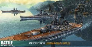 Battle of Warships for Android