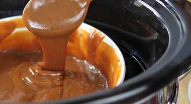 Slow Cooker Buttery Caramel Dip