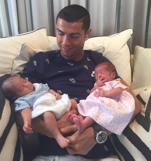 ronaldo twins american surrogate mother