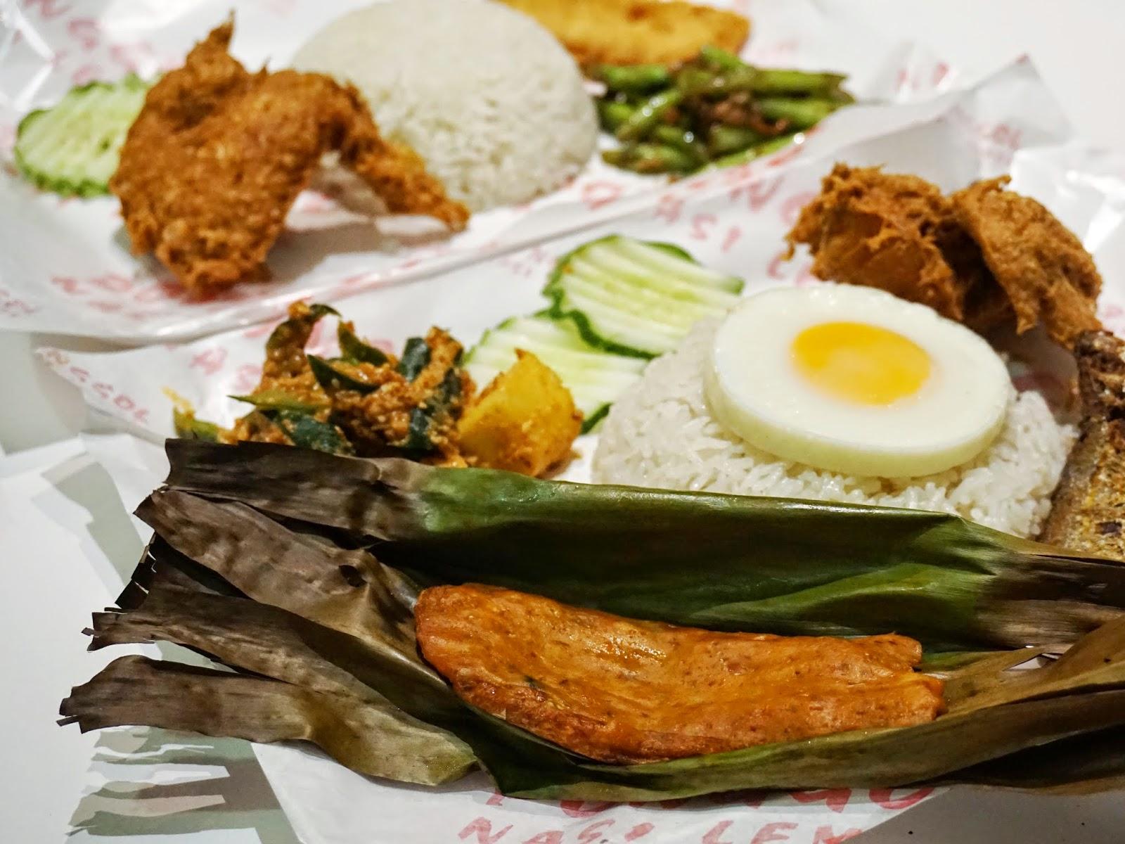 PinkyPiggu: Ponggol Nasi Lemak @ Jalan Besar ~ New Air-Conditioned ...