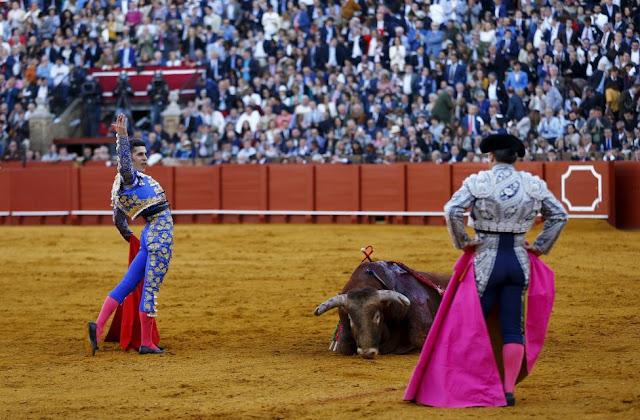 Spanish Bullfight in Seville in Pictures