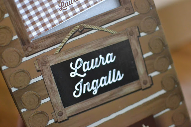Laura Ingalls Doll Box