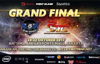 Grand Final PBNC, PBLC, PBSC dan PBIC 2017 Segera Digelar 20-22 Oktober 2017 di BritAma Sports Mall, Jakarta