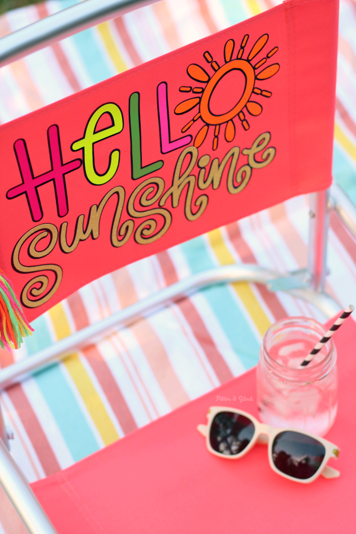 Hello Sunshine Beach Chair