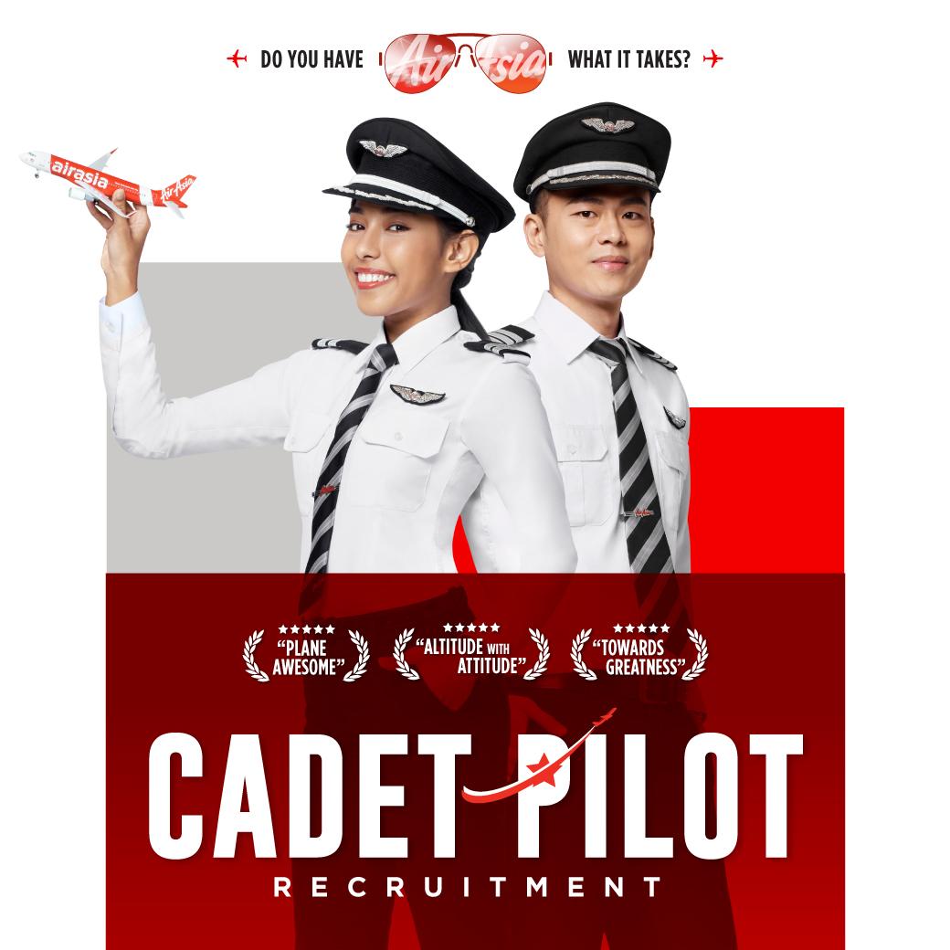 Fly Gosh Airasia Pilot Recruitment Cadet Pilot 2019
