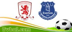 Middlesbrough vs Everton