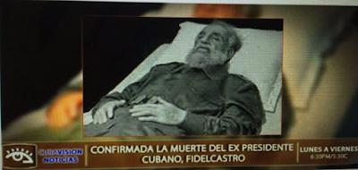 Fallece ex-presidente cubano Fidel Castro este Viernes