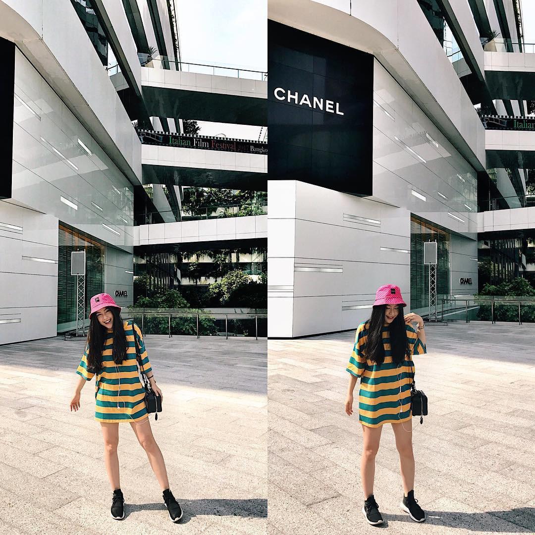Cô bạn sinh năm 1998 xinh như búp bê cùng nụ cười tươi rói đang cực hot trên Instagram Việt Nam -7