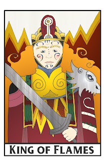 Themo H Peel - Ash tarot card