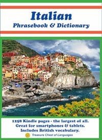 Italian Phrasebook & Dictionary - book promotion by D. Finocchiaro, S. Sgrò, B. Corica & R. Powers