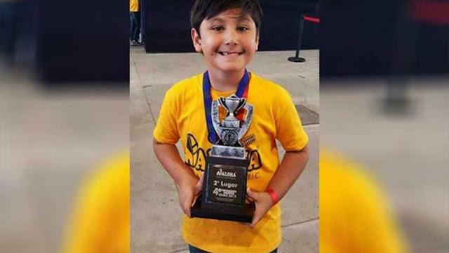 Niño genio mexicano de 6 años participará en Malasia por el Concurso Mundial de Cálculo Mental