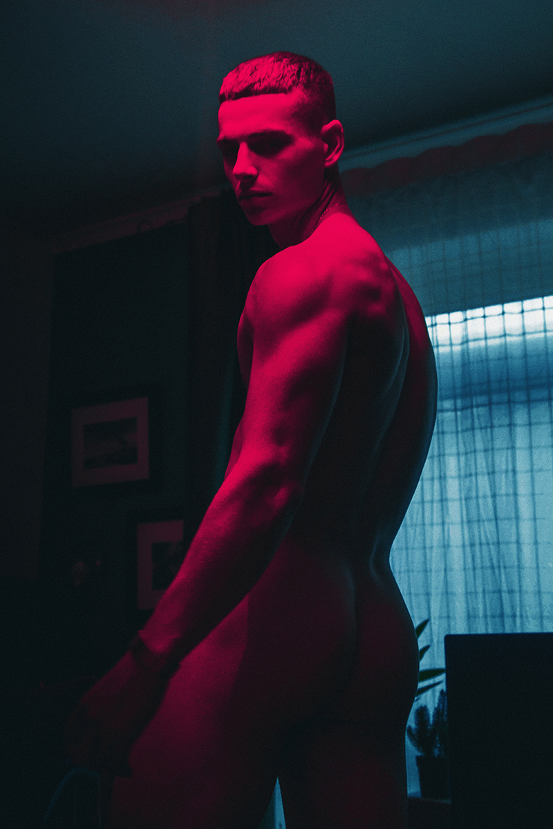 NSFW: Ollie Lister by Pantelis for Coitus Magazine
