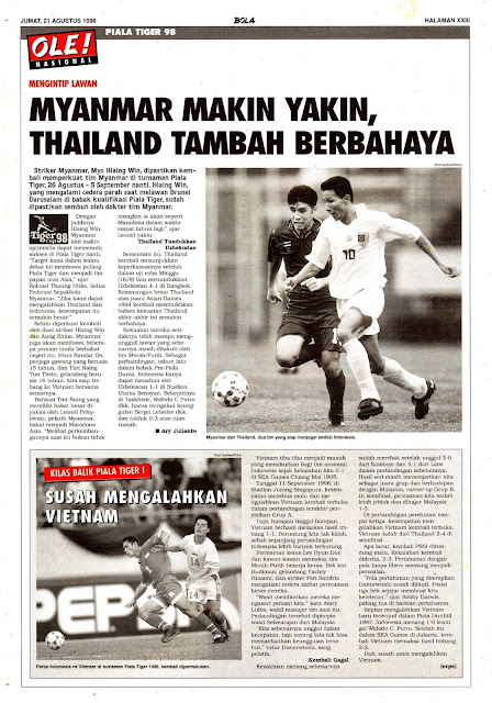 MYANMAR MAKIN YAKIN, THAILAND TAMBAH BERBAHAYA
