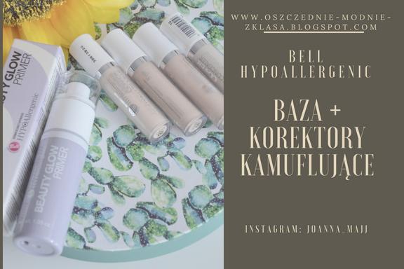Bell HYPOAllergenic - baza pod makijaż + korektory kamuflujące