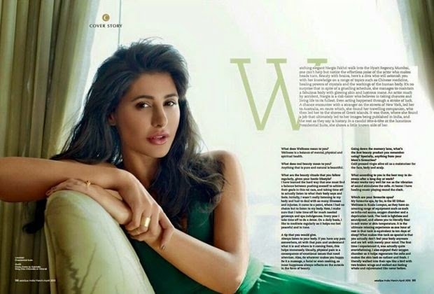 , Hot Pics of  Nargis Fakhri From Latest Magazine Photoshoot
