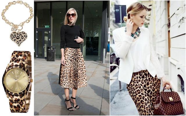 леопардовый принт в одежде осень-зима 2015-2016