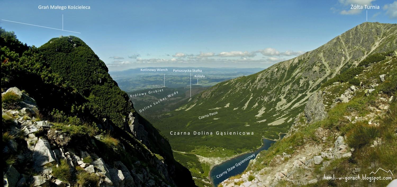 Panorama z Karbu