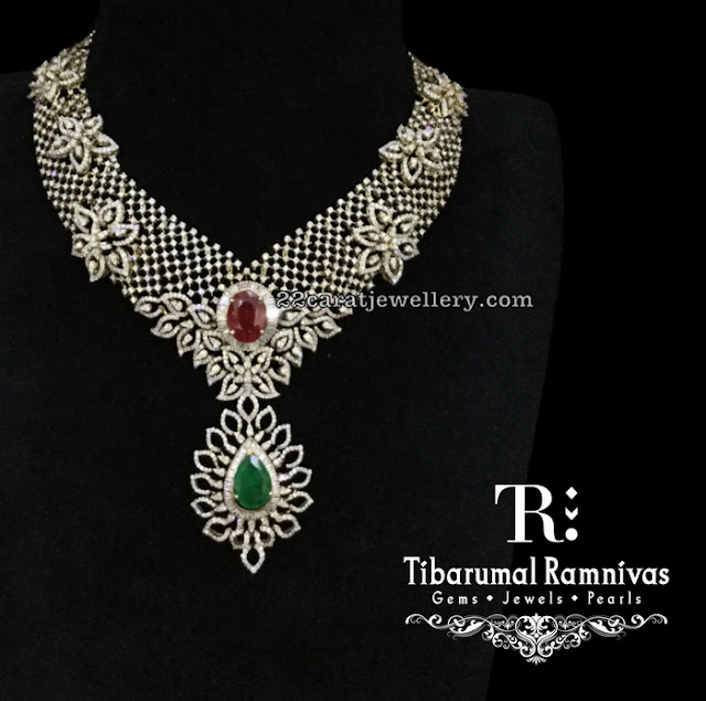 Tibarumal's Designer Diamond Set