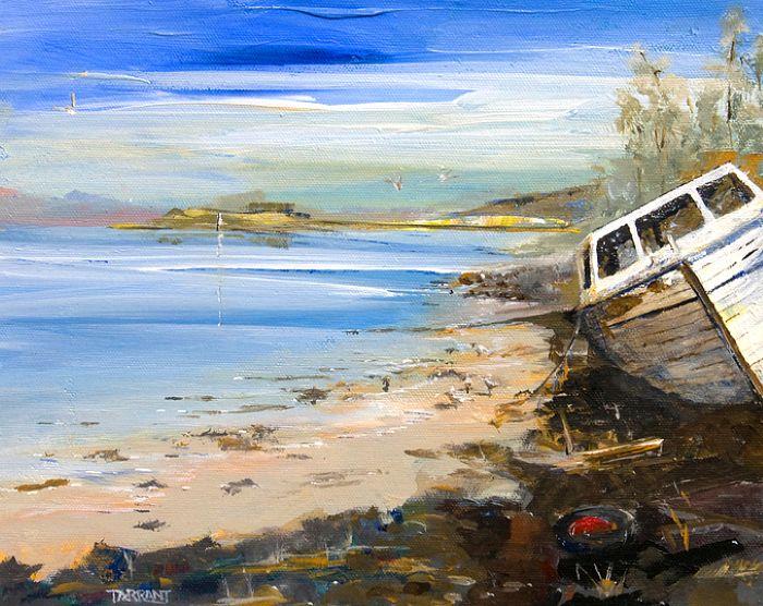 Яркие и сильные картины. Peter Tarrant