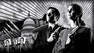 Protagonistas serie The Americans