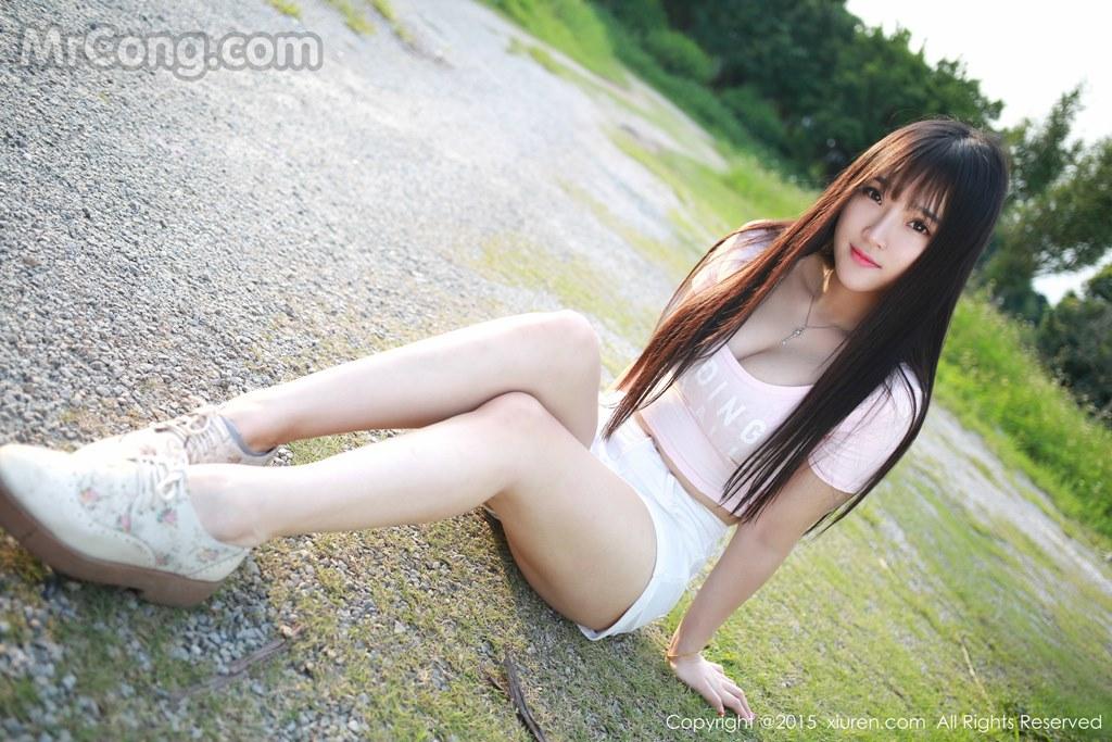 MrCong.com XIUREN No.345 Xia Yao baby 030 - XIUREN No.345: Model Xia Yao baby (夏 瑶 baby) (43 pictures)