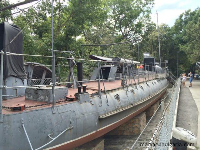 buque torpedero Drazki, Museo Naval de Varna, Bulgaria