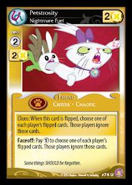 My Little Pony Petstrosity, Nightmare Fuel Absolute Discord CCG Card