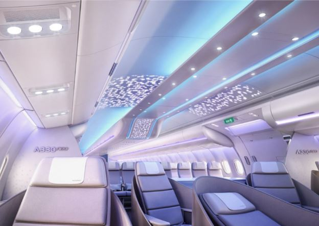 Airbus A330-900 cabin