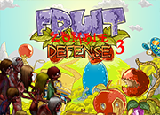 Fruit Zombie Defense 3 juego