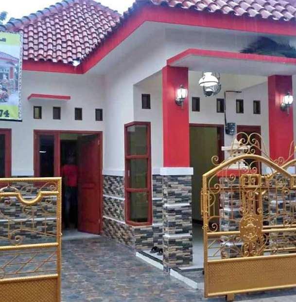 Gambar Tampak depan rumah minimalis dengan warna cat netral
