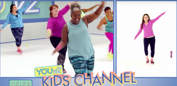 YOUv2, Leandro Carvalho, dance workout, mom workout, workout with your kids, larger women, workouts for larger women, Beachbody on demand, All access pass, workouts for kids