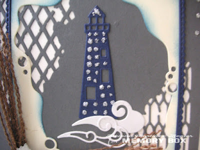lighthouse card for a man detail