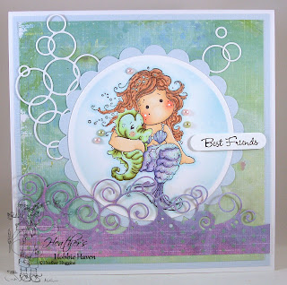 Heather's Hobbie Haven - Pearl Tilda Card Kit