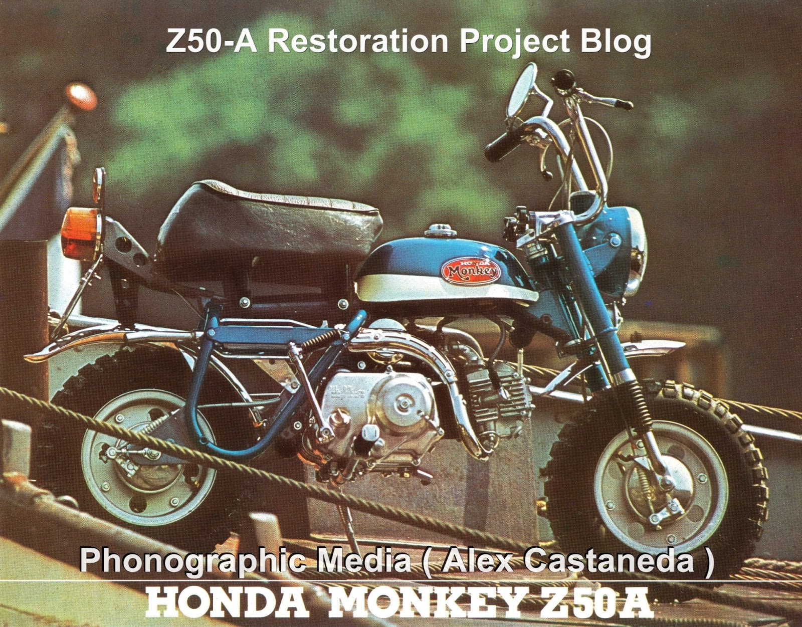 German / Sweden Honda Monkey Z50A - European Market Brochure 1972 ( En  français - French )